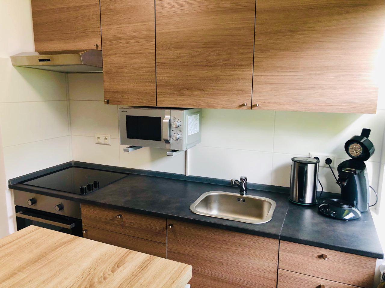 Küchenfront frontal